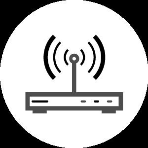 Broadband & Wi-Fi Icon