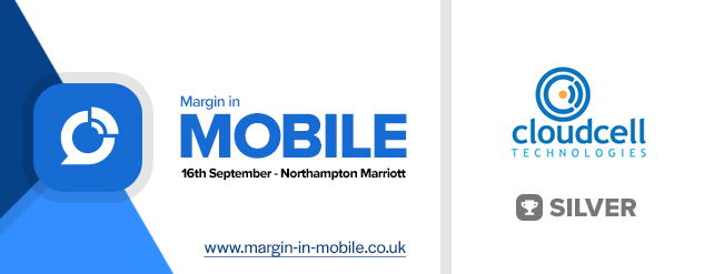 Cloudcell Technologies Silver Sponsor at Margin in Mobile 2021